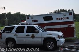 Elmsford Car 2111 and Rescue 49