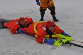 Chief J. Trama rescuing Lt. Mangiacotti.