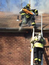 Successful ventilation performed. Photo courtesy of Jared Rosenberg.