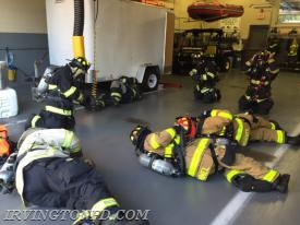 IFD Members practicing their FAST skills last Tuesday.