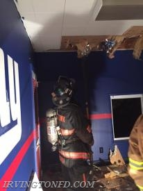 Members of TL-78 pulling ceilings.