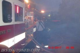 FF Hank Trama on the pump of E178