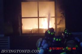 Members making an exterior attack prior transitioning to an interior attack.